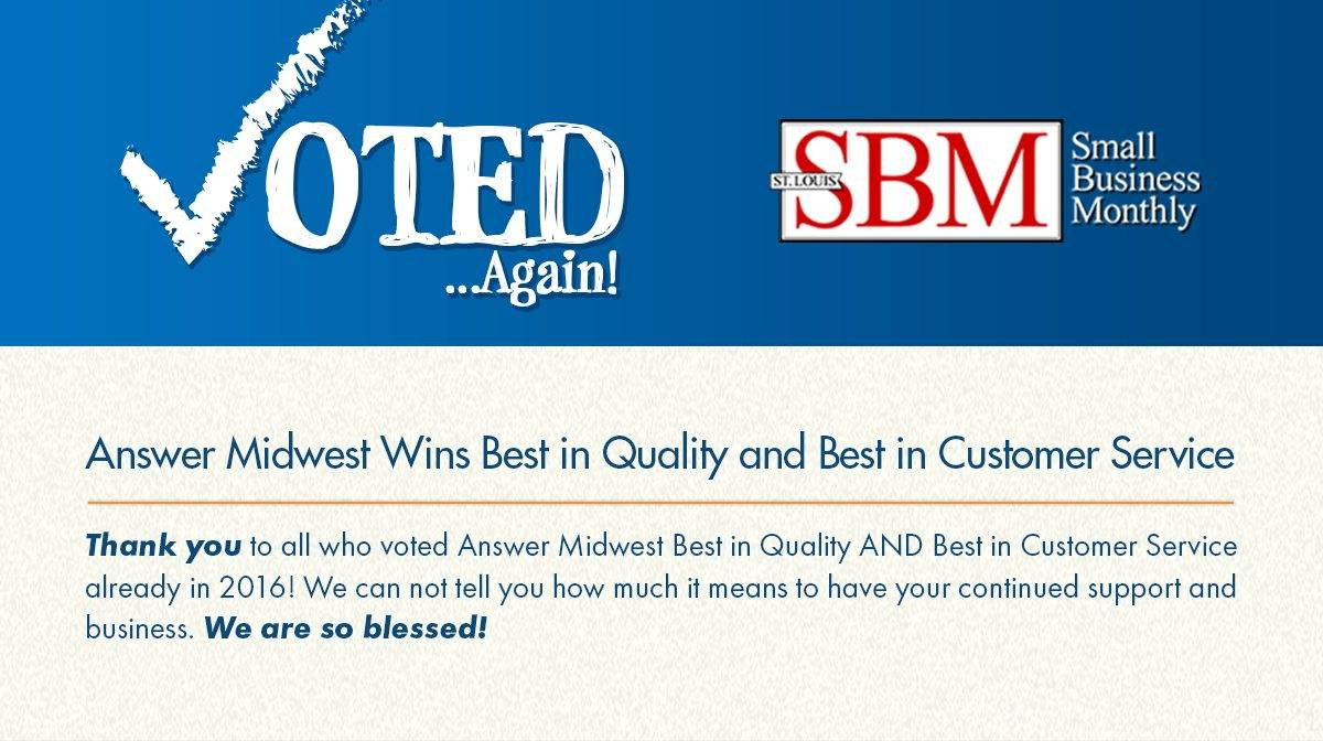 Answer Midwest Answering Service Newsletter